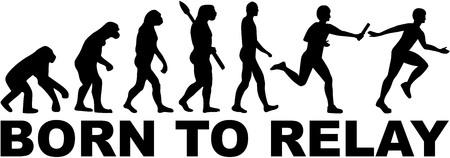 carrera de relevos: Evolución de relé - nació para retransmitir