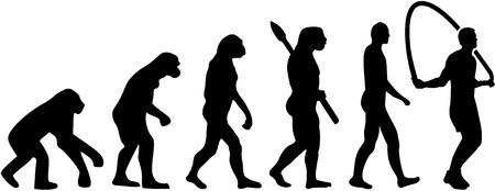 jumping monkeys: Skipping rope evolution
