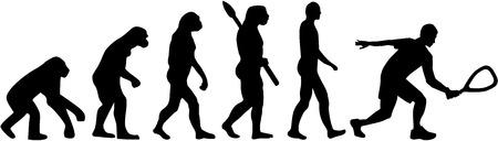 racquetball: evoluci�n racquetball