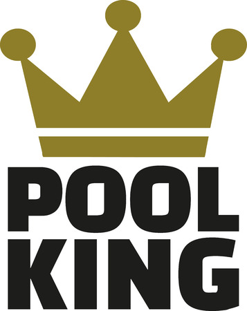 snooker tables: Pool king with crown