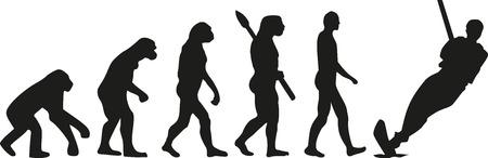 sapiens: Water skiing evolution