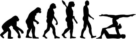 acrobatics: Acrobatics evolution Illustration