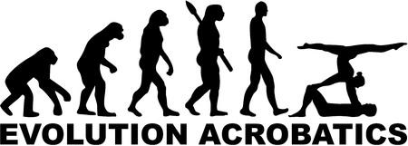 acrobatics: Evolution Acrobatics Illustration
