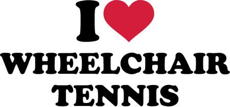 rehab: I love Wheelchair Tennis