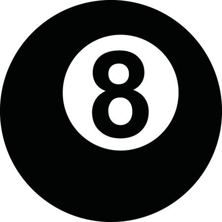 bola ocho: Piscina de ocho bolas