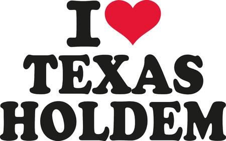hold'em: I love texas holdem