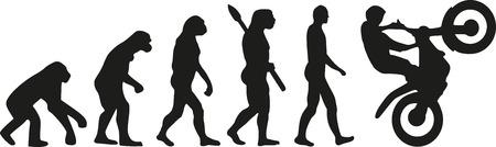 human evolution: Motocross evolution