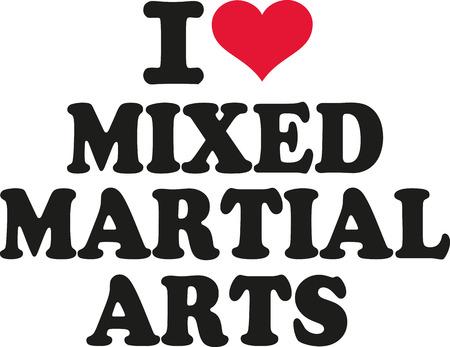 artes marciales mixtas: Amo las artes marciales mixtas
