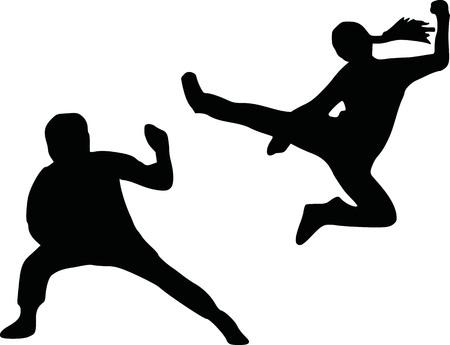 kungfu: Kungfu silhouette