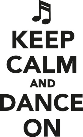poise: Keep calm and dance on