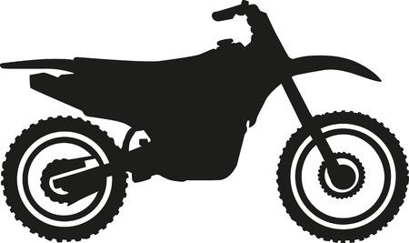 crossmotor Vector Illustratie