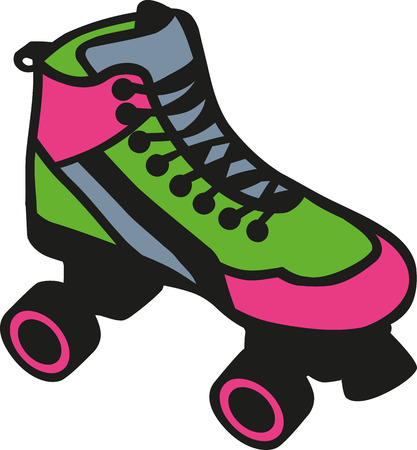 inline: Rollerblades colored