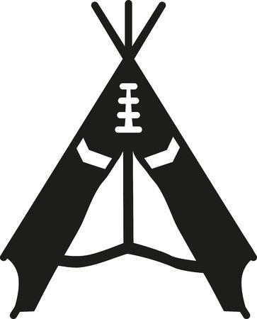 tepee: Tepee Illustration