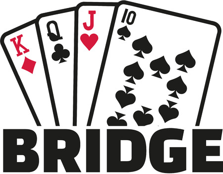 Image result for card game bridge clipart