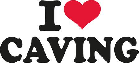 caving: I love caving