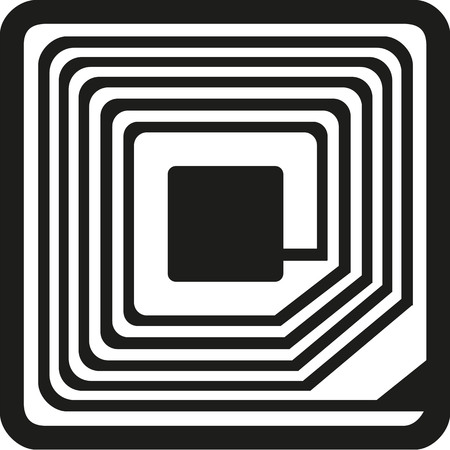 RFID symbol Vectores