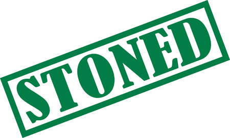 stoned: Stoned stamp