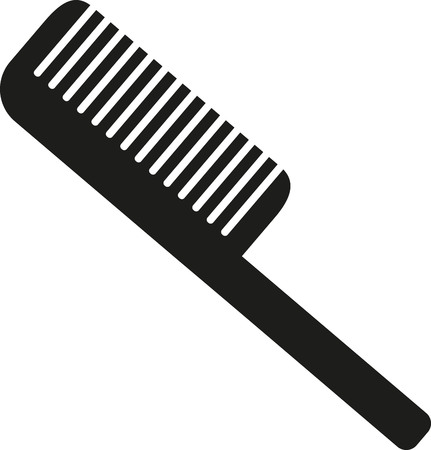 blow drier: Comb with stem
