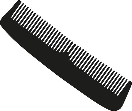 drier: Hairdresser comb Illustration