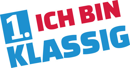 starter: I am first class - school starter german