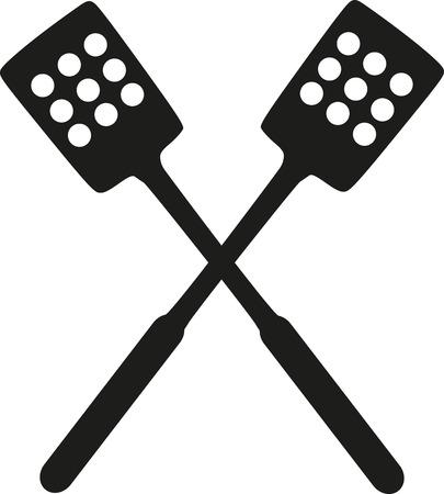spatula: Kitchen spatula Illustration