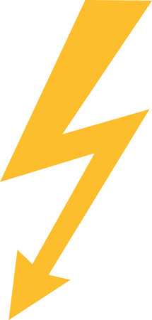 bolt: Bolt sign electric Illustration