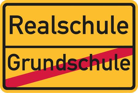 comprehensive: From elementary school to comprehensive school - german