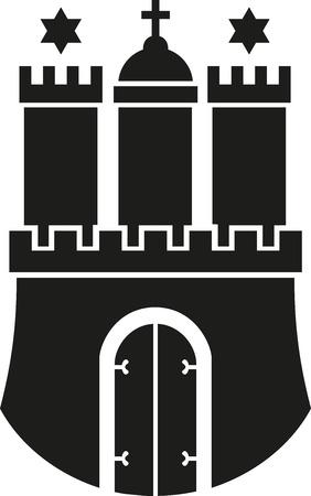 hamburg: Hamburg coat of arms