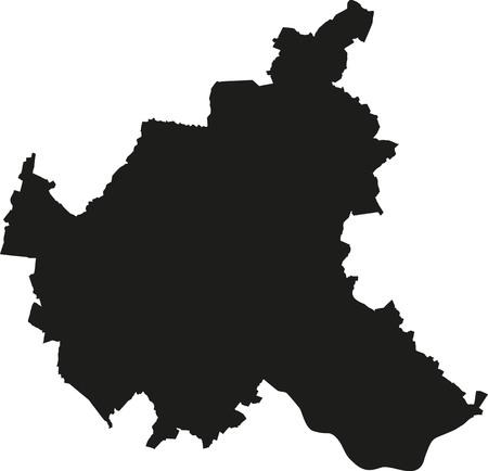 hamburg: Map of Hamburg