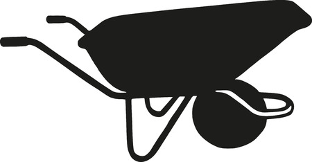 carretilla: Carretilla Vectores