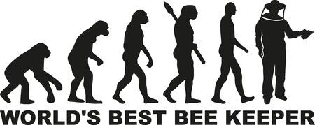 beekeeper: Worlds best beekeeper evolution Illustration