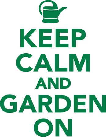 grower: Keep calm and garden on