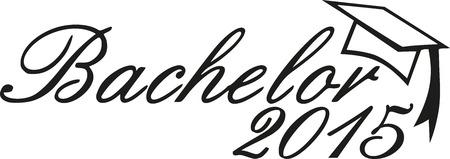 bachelor: Bachelor graduation 2015 Illustration