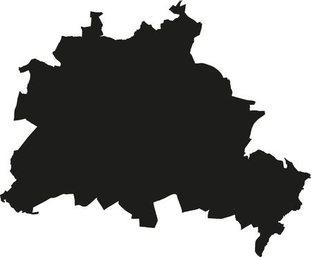 berlin: Map of Berlin