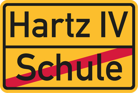 hartz 4: From school to public support german