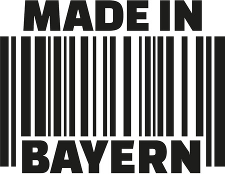 bavaria: Made in Bavaria barcode german