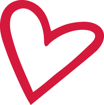 heart outline: Heart outline cute