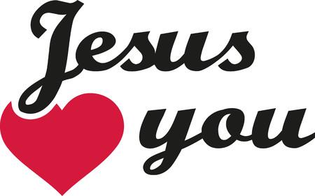 Jezus houdt van je