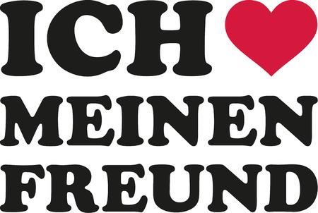 boyfriends: I love my boyfriend german