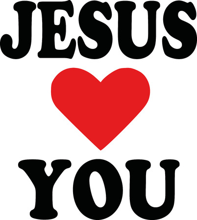 loves: Jesus loves you icon