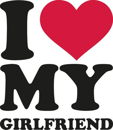 boyfriends: I heart my girlfriend Illustration