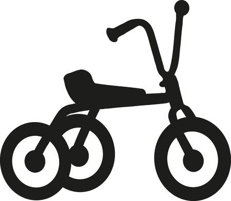 Tricycle icon Illusztráció