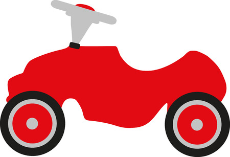 Play car toy Illusztráció