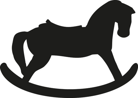 rocking horse: Rocking Horse silhouette