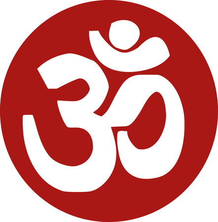 sanskrit: Om sanskrit icon Illustration