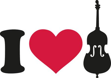 contrabass: I love Contrabass icon