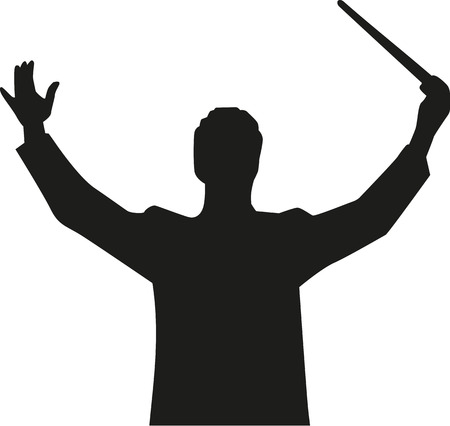 Dyrygent orkiestry kierować
