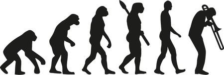 trombon: la evoluci�n del tromb�n Vectores