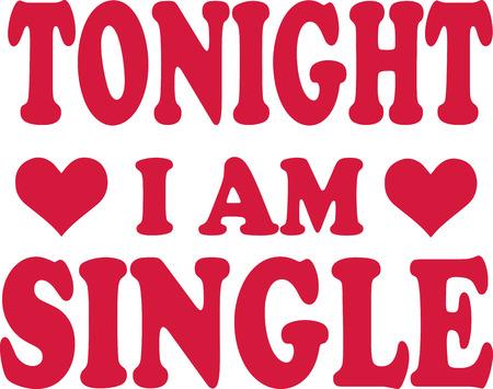 tonight: Tonight I am Single
