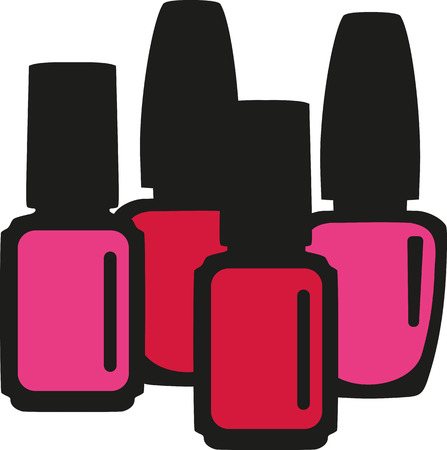 to polish: Nail polish bottles